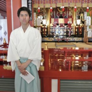 Taishi Kato - Shinto Priest